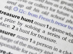 Treasure hunt dictionary definition
