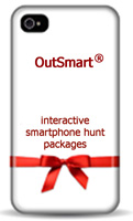 Treasure Hunt Packages on mobile phones and tablets