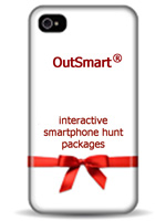 Hi-tech Treasure Hunt Packages on smartrphone and tablet